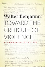 Toward the Critique of Violence