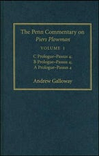 The Penn Commentary on Piers Plowman, Volume 1