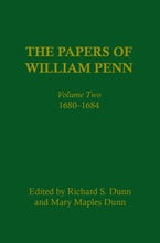 The Papers of William Penn, Volume 2