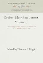 Dreiser-Mencken Letters, Volume 1