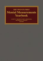 The Twenty-First Mental Measurements Yearbook