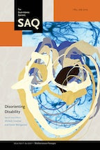 Disorienting Disability