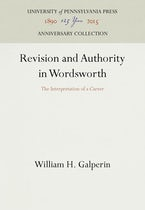 Revision and Authority in Wordsworth