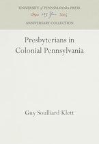 Presbyterians in Colonial Pennsylvania