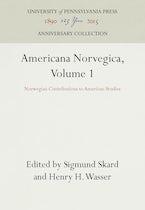 Americana Norvegica, Volume 1