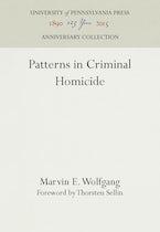 Patterns in Criminal Homicide