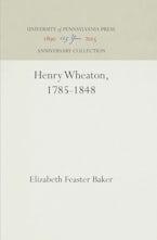 Henry Wheaton, 1785-1848