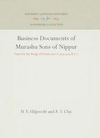 Business Documents of Murashu Sons of Nippur