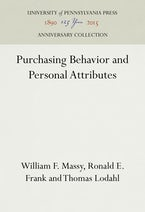 Purchasing Behavior and Personal Attributes