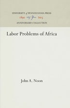 Labor Problems of Africa