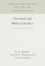 Oriental and Biblical Studies