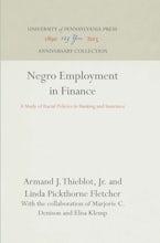 Negro Employment in Finance