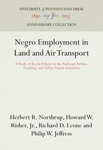 Negro Employment in Land and Air Transport