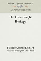 The Dear-Bought Heritage